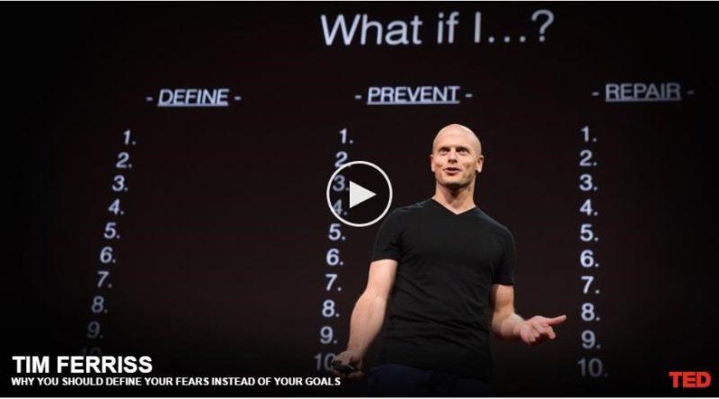 Tim Ferriss - TED Talk