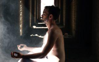 finding serenity through meditation