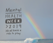Mental health week logo
