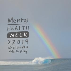 Mental health week logo
